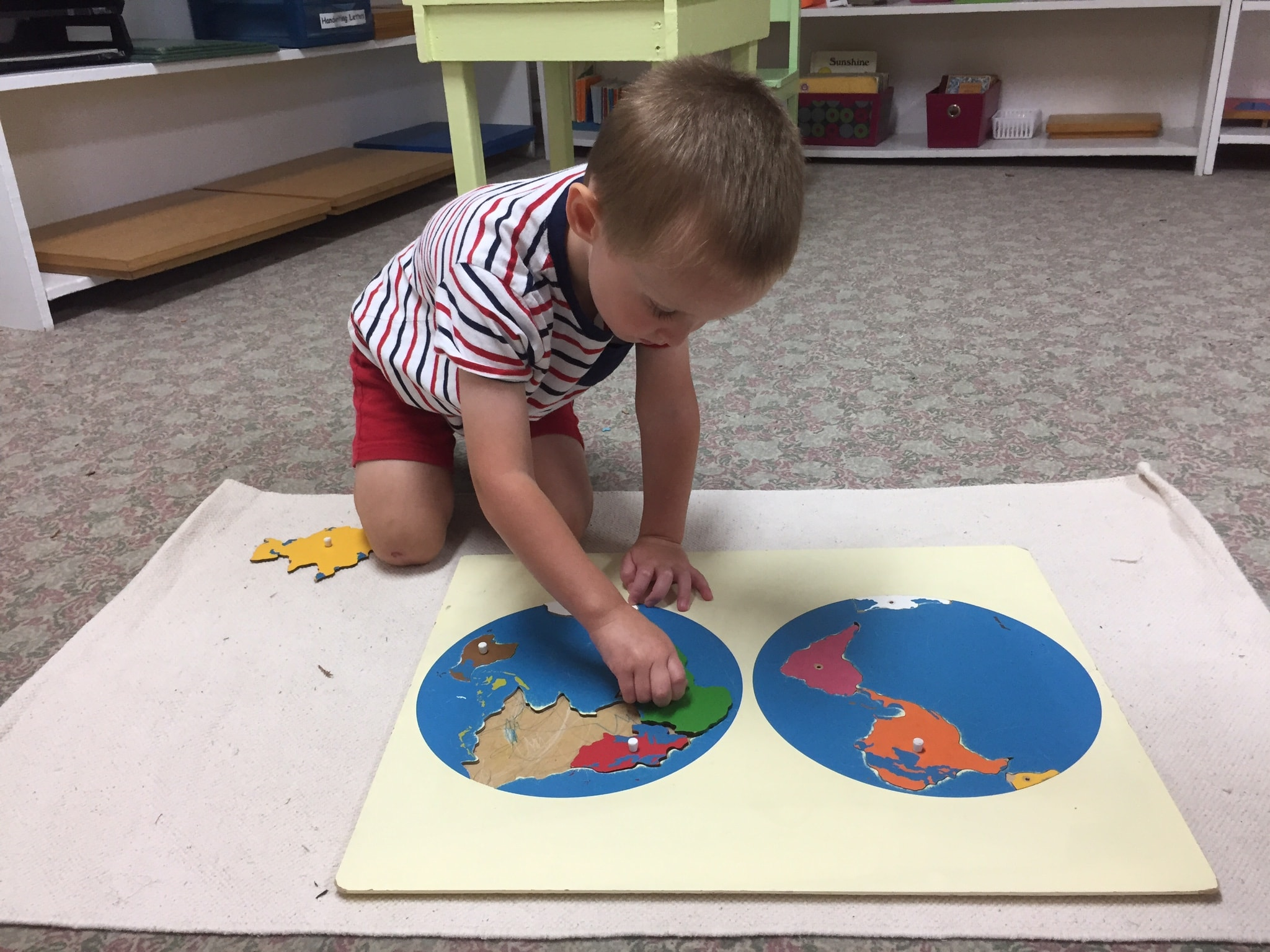 Learn and play montessori calendar